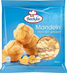Backfee Mandeln gehobelt 100 g
