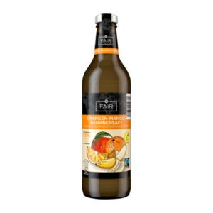FAIR     Orangen-Mango-Bananensaft, Fairtrade