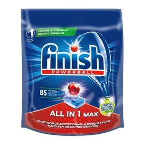 Finish Powerball All-in-1 Max extra Fettlöser Tabs 85er