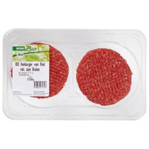 REWE Bio Hamburger vom Rind 250g