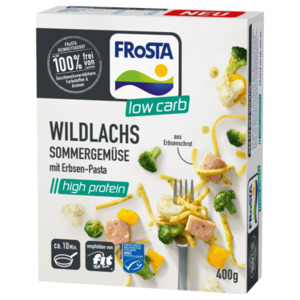 Frosta Wildlachs Sommergemüse 400g