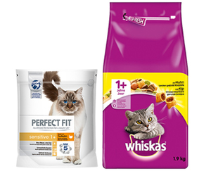 PERFECT FIT oder Whiskas®  Trockenfutter