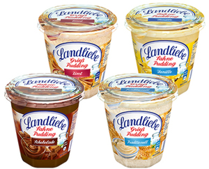 Landliebe Sahne- oder Grieß-Pudding