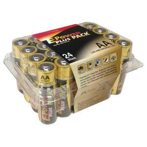 24er-Pack Mignon-Batterien - LR6 - AA