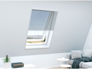 POWERFIX® Dachfenster-Insektenschutz Plissee