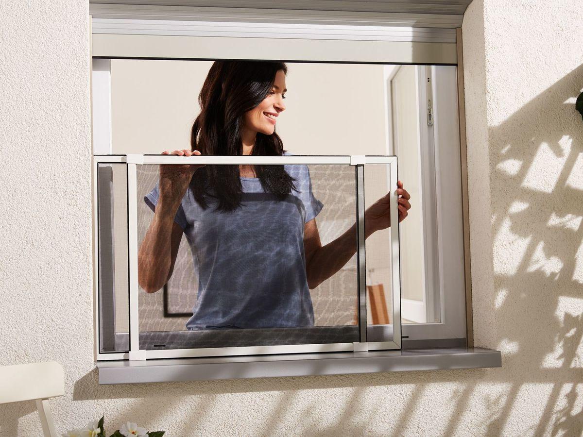 Bild 1 von POWERFIX® Alu-Insektenschutz-Schiebefenster