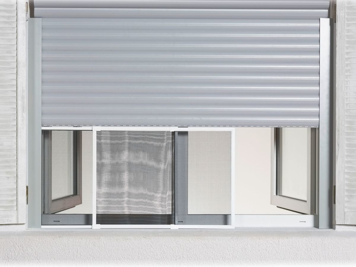 Bild 2 von POWERFIX® Alu-Insektenschutz-Schiebefenster