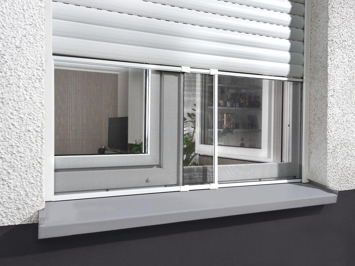 Bild 4 von POWERFIX® Alu-Insektenschutz-Schiebefenster