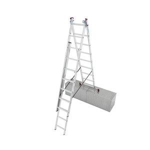 Krause              CORDA Vielzweck Leiter Treppe 3x9