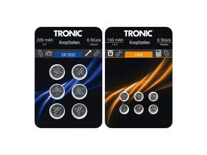TRONIC® 6 Knopfzellen
