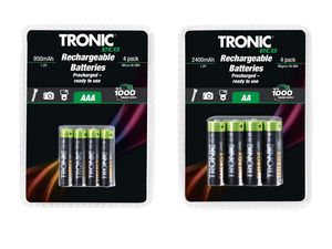 "TRONIC® ""Ready to use""-NiMH-Akkus"