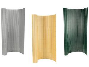 FLORABEST Sichtschutzmatte PVC Bambusoptik