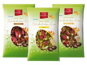 Gefüllte Schokoladeneier