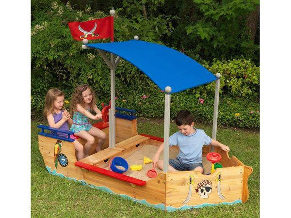 Kidkraft Kidkraft Sandkasten Piratenschiff Von Lidl Für 209