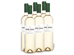 6 x 0,75-l-Flasche Weinpaket Pere Seda Novell Pla i Llevant Mallorca D.O. trocken, Weißwein
