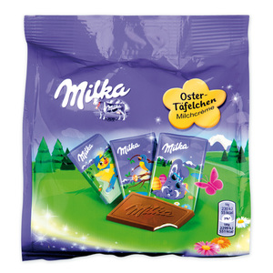Milka Oster-Täfelchen