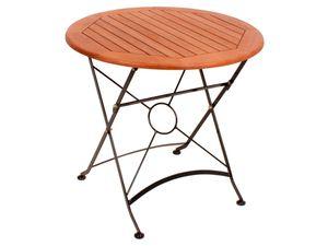 Garden Pleasure Tisch WIEN, rund, klappbar