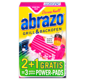 ABRAZO Grill-und-Backofen-Reinigungskissen EXTRA BIG