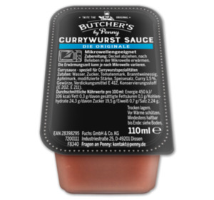 BUTCHER'S Currywurst Sauce