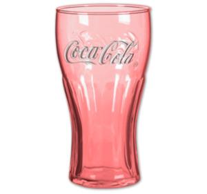 COCA-COLA Trinkglas
