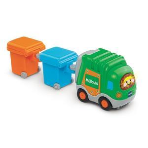 Tut Tut Baby Flitzer - Müllauto und 2 Mülltonnen