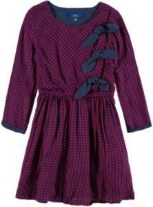 Kinder Kleid mit Schleifendetails Gr. 92/98 Mädchen Kleinkinder