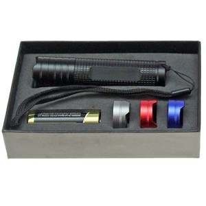 Hochleistungs-Taschenlampe, CREE LED High Power Technik, 3,0 Watt, Schwarz