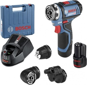 Bosch Professional Akkubohrschrauber GSR 12V-15 ,  12 V , 2 Ah,  Drehmoment max: 15/30 Nm