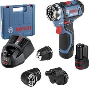 Bosch Professional Akkubohrschrauber GSR 12V-15 ,  12 V , 2 Ah,  Drehmoment max: 15/30 Nm, Anzahl Akku: 2