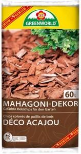 ASB Greenworld Mahagoni-Dekor Holzchips ,  60 l