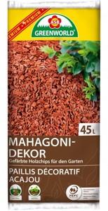 ASB Greenworld Dekochips Mahagoni ,  45 l