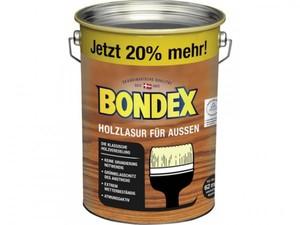 Bondex Holzlasur für Außen ,  4,8 l, dunkelgrau