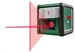 Bosch Kreuzlinien-Laser Quigo ,  ca. 10 m, inkl. Universalklemme