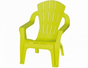 Progarden Kinder-Deckchair Dolomiti ,  lime green, Kinderstuhl