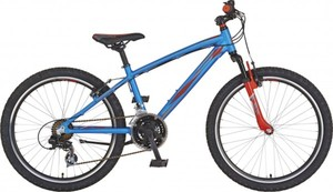 Rex Mountainbike 24 Zoll 21-Gang ,  blau orange, Graveler Twentyfour
