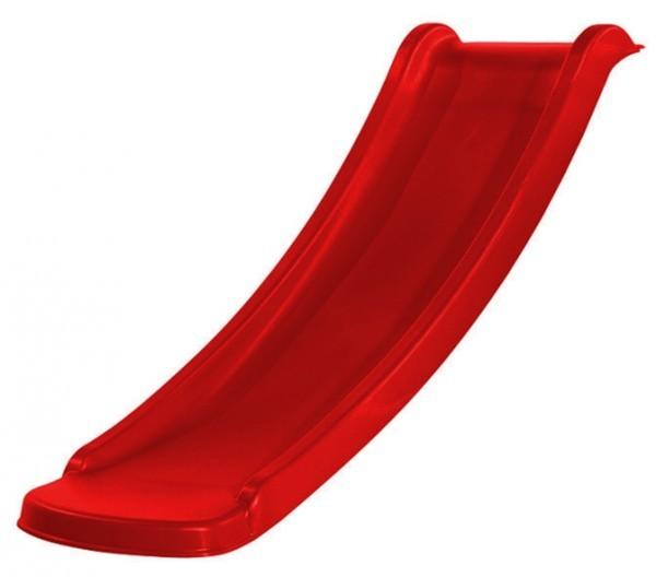 Weka Rutsche für Kinderspielhaus Lotti ,  Maße: 60  x 120  x 20  cm, rot