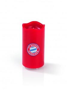 FC Bayern München LED-Echtwachskerze ,  Hier dreht sich alles um den FC Bayern!