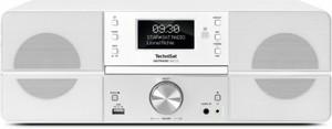 TechniSat Digit Radio, 360 CD, DAB/DAB+ ,  Radioempfänger mit CD, weiß