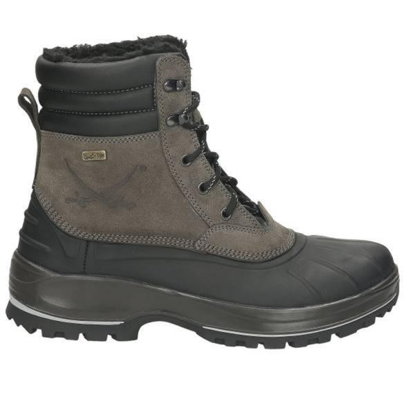 Herren Snow Boot, schwarz - kombiniert