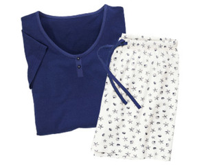 blue motion Shorty Pyjama