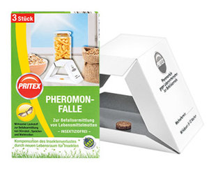 PRITEX Pheromon-Falle, 3 Stück