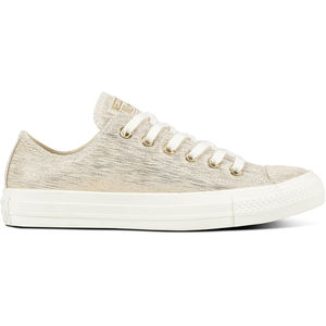 Converse Damen Sneaker CTAS Precious Metal Low Top, linen