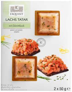 EXQUISIT  Lachs-Tatar