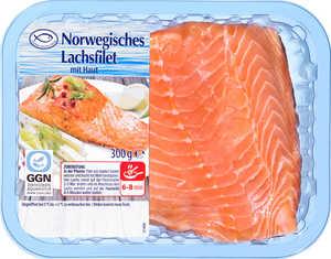 Norwegisches Lachsfilet