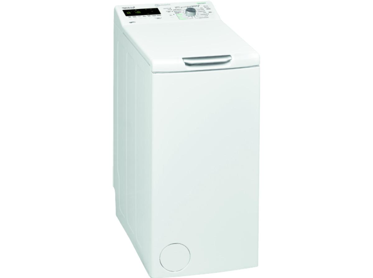 Bild 1 von BAUKNECHT WMT EcoStar 6Z BW, 6 kg Waschmaschine, Toplader, 1200 U/Min., A+++, Weiß