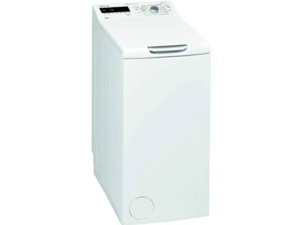 BAUKNECHT WMT EcoStar 6Z BW, 6 kg Waschmaschine, Toplader, 1200 U/Min., A+++, Weiß