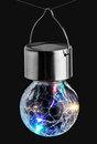 Bild 2 von I-Glow LED-Solar-Leuchtkugeln, Crackle Bunt - 3er Set