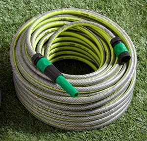 """Powertec Garden Gartenschlauch """"SlideTec"""", 1/2"""", 25m, Lemon-Grün"""