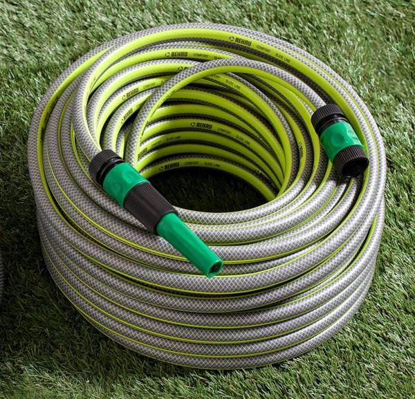 """Powertec Garden Gartenschlauch """"SlideTec"""", 1/2"""", 40m, Lemon-Grün"""