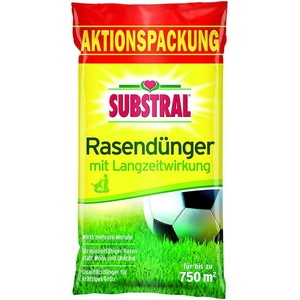 Substral Rasendünger mit Langzeitwirkung 15,0 kg, für bis zu 750 m2